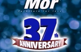Mor Furniture for Less 37th Anniversary Sale