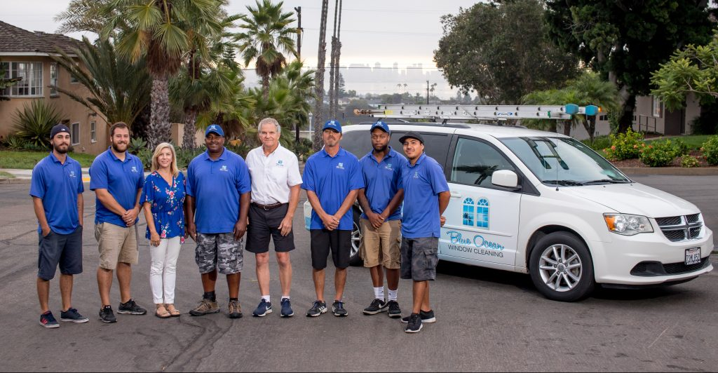 San Diego's best window cleaning team
